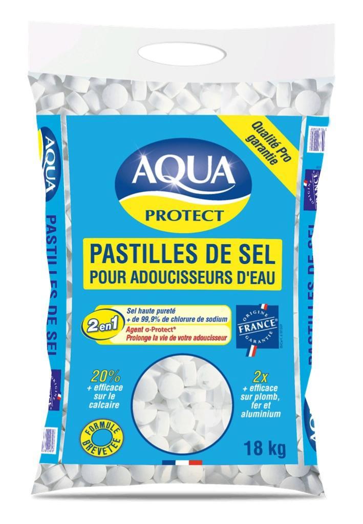 Sel pour adoucisseur 18 kg AQUAPROTECT | Leroy Merlin