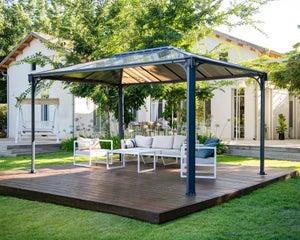 Tente De Reception Tonnelle Et Pergola Leroy Merlin