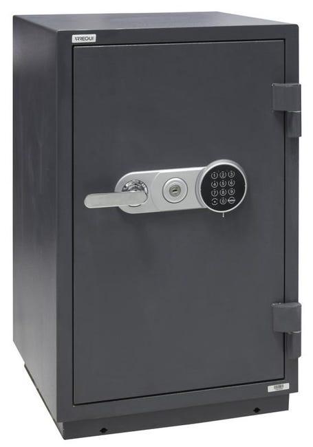 Arregui Resist 41260 Coffre Fort Ignifuge Anti Feu 98 Mm Double Securite Ouverture A Cle Et A Code Electronique 79 X 48 5 X 45 Cm 64 8 L Leroy Merlin