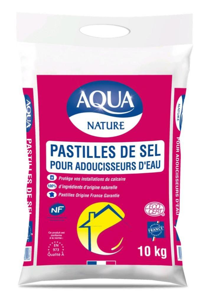 Sel pour adoucisseur AQUA 10 kg | Leroy Merlin