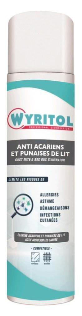 Traitement Anti Acariens Et Punaises De Lit Wyritol 500ml Leroy Merlin