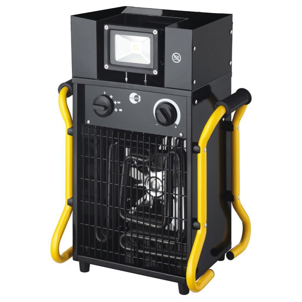 Chauffage de chantier électrique EQUATION West 2+ 3300 W ...