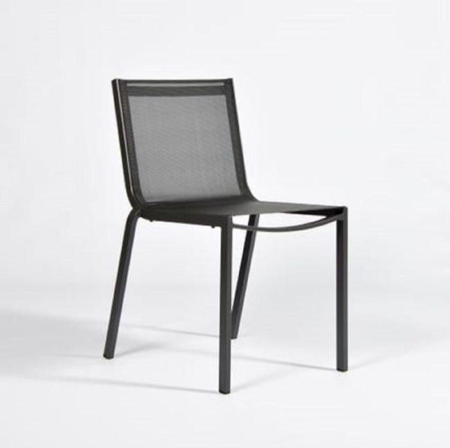 Chaise De Jardin En Aluminium Horizon Anthracite Leroy Merlin