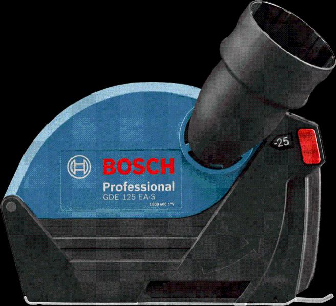 HERZO extraction de poussière de garde pour 115//125mm Meuleuse d/'angle