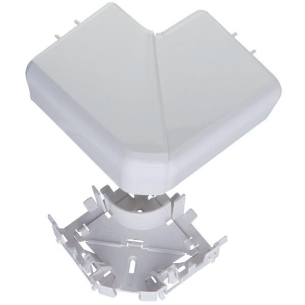 65mmx150mm Blanc Legrand 010790 DLP Monobloc Angle Plat de 90/° pour Goulottes