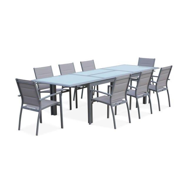 Salon de jardin table extensible philadelphie table en