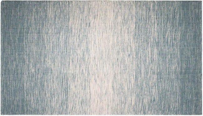 Tapis Intérieur Extérieur Stockholm Bleu 90 X 60 Cm Fabhabitat