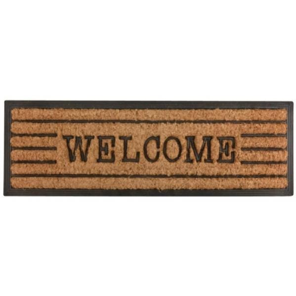 Tapis En Fibres De Coco Inscription Welcome Esschert Design Leroy Merlin