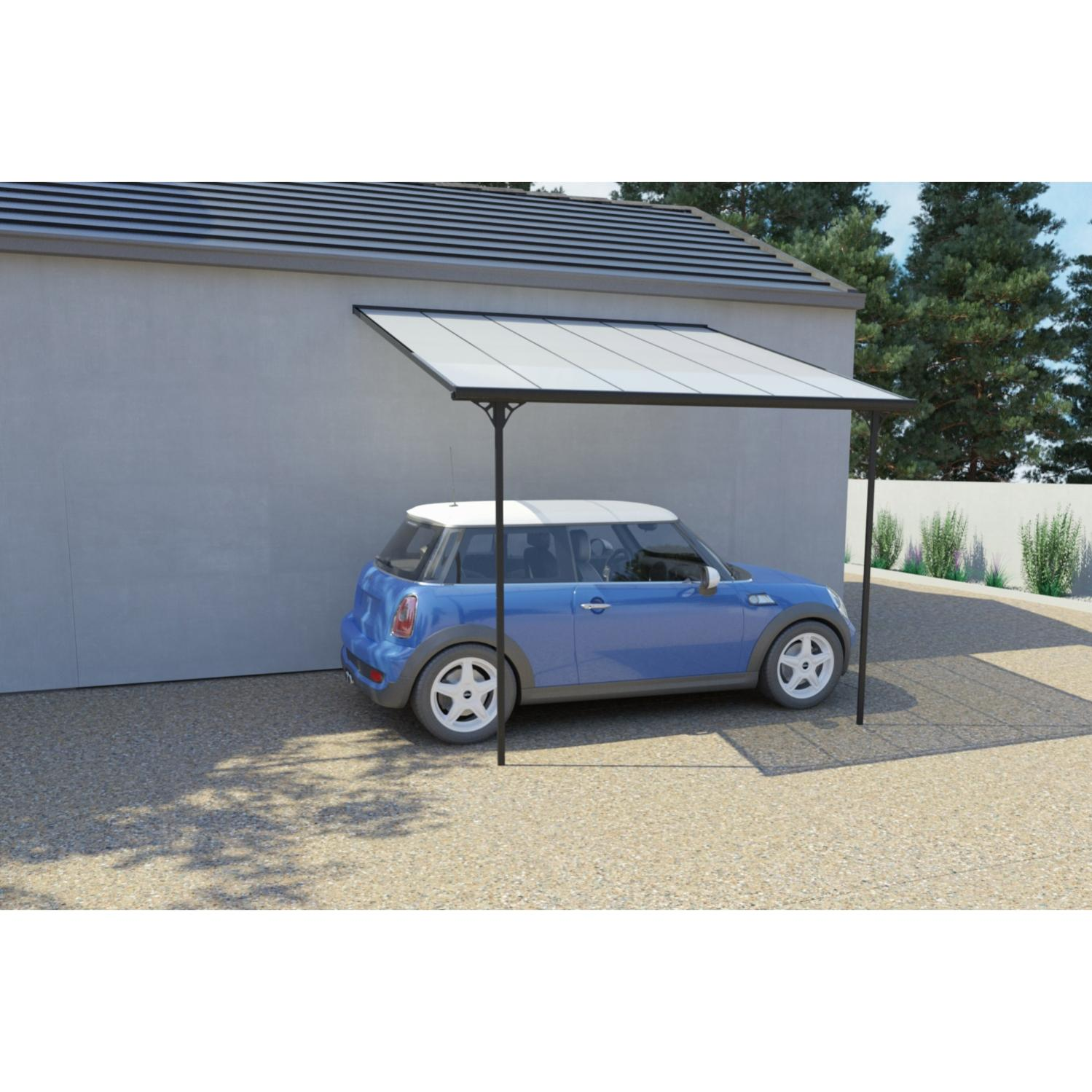 ferrato 956 m²  tonnelle murale carport en aluminium 3