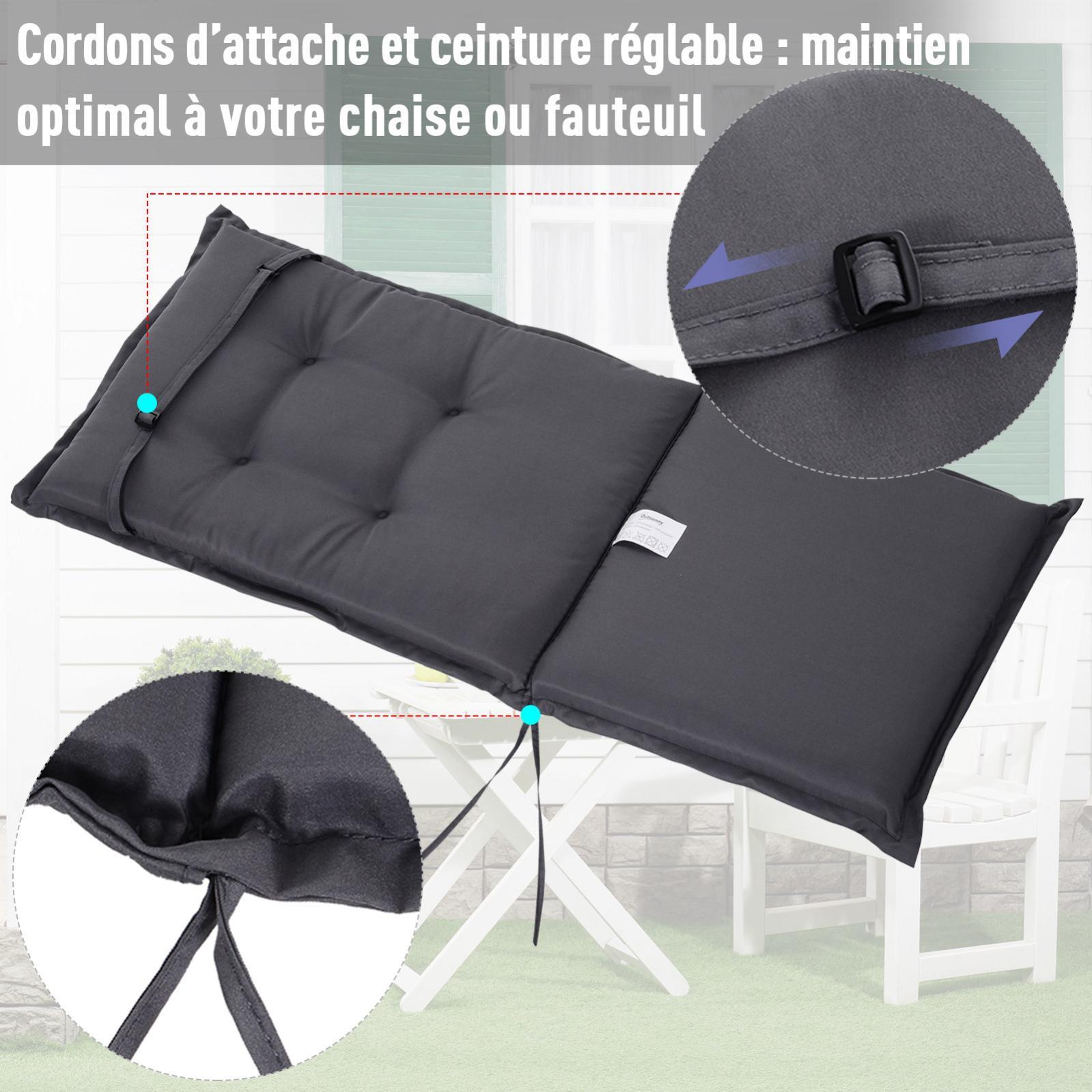 Coussin De Chaise Longue Galette De Chaise De Jardin