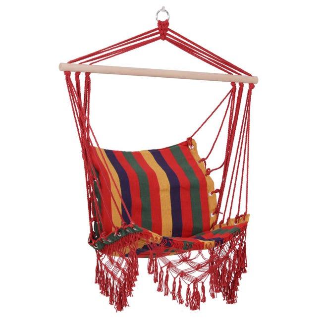 Chaise Suspendue Hamac De Voyage Multicolore Leroy Merlin