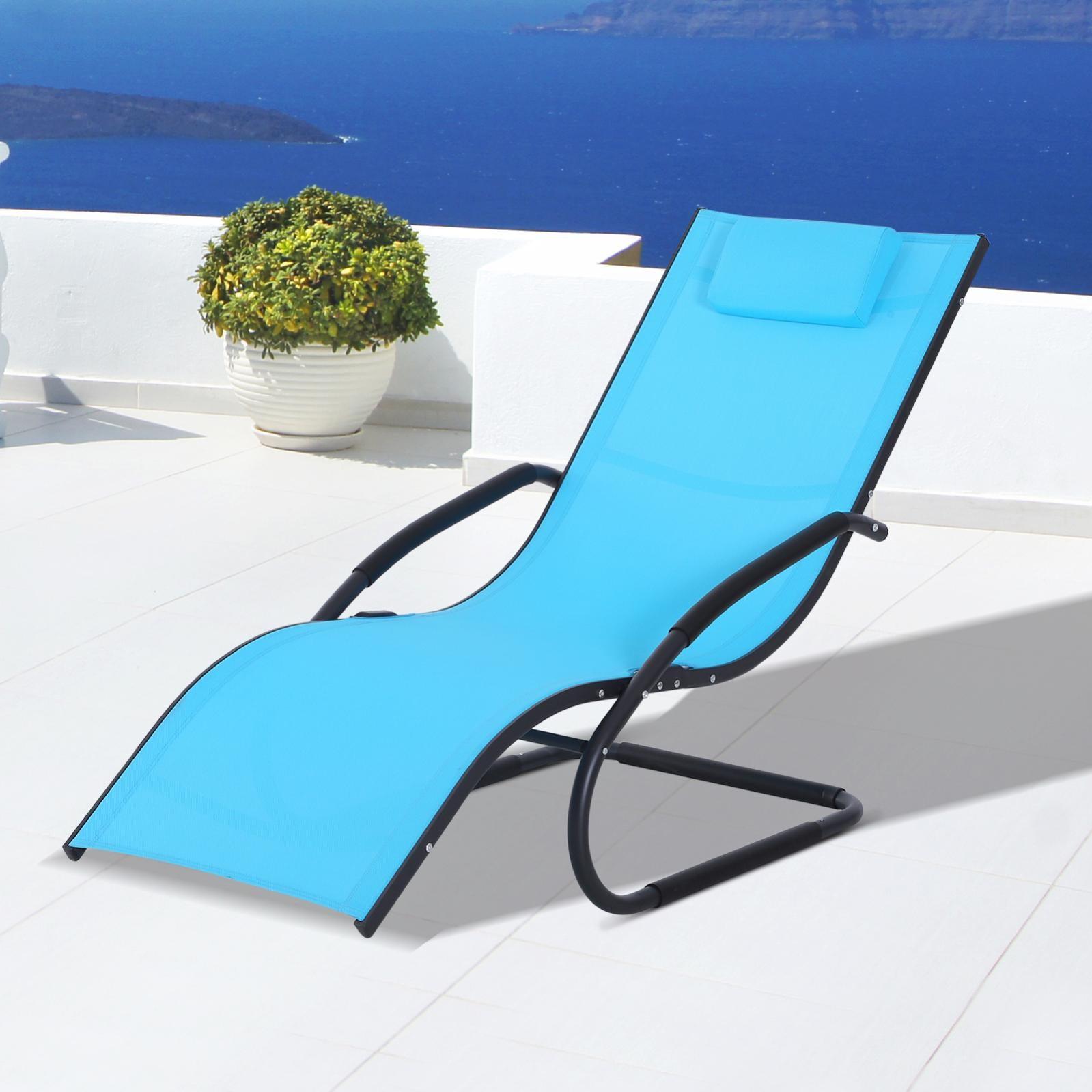 chaise longue design contemporain  leroy merlin