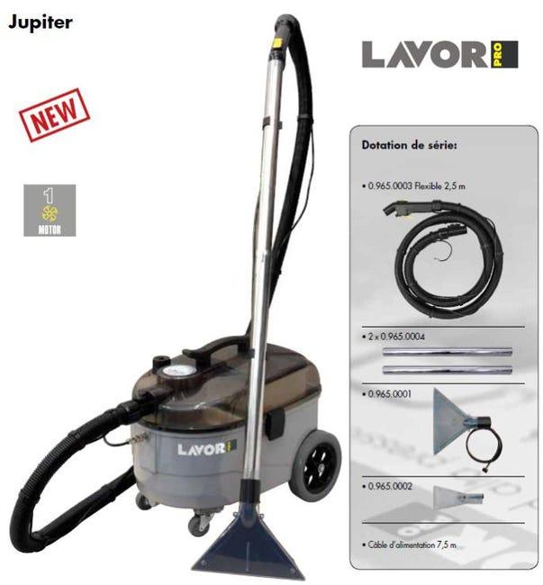 Lavor Pro Injecteur Extracteur 1100w 50l S Jupiter Leroy Merlin
