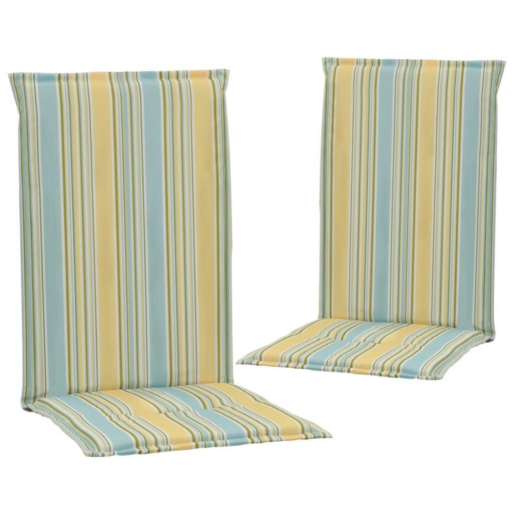 Coussins De Chaise De Jardin 6 Pcs Multicolore 160x6x6 Cm Vidaxl