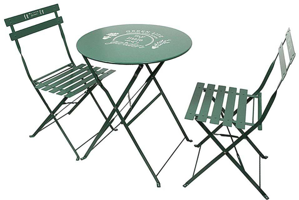 Table Et Chaises De Jardin En Métal Illustrations The Home