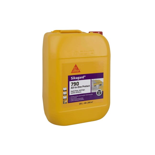 Protection Hydrofuge Sika Sikagard 790 All In One 20l Leroy Merlin