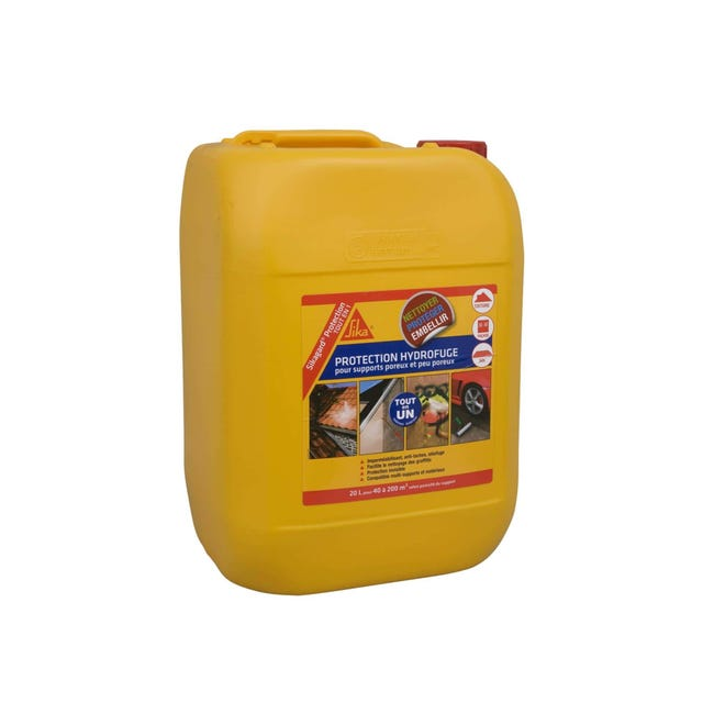 Protection Hydrofuge Sika Sikagard Protection Tout En 1 20l Leroy Merlin