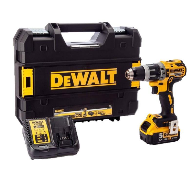 Dewalt DCD796N 18 V Brushless 2 vitesse Combi perceuse avec 1 x 4Ah Batterie /& Chargeur