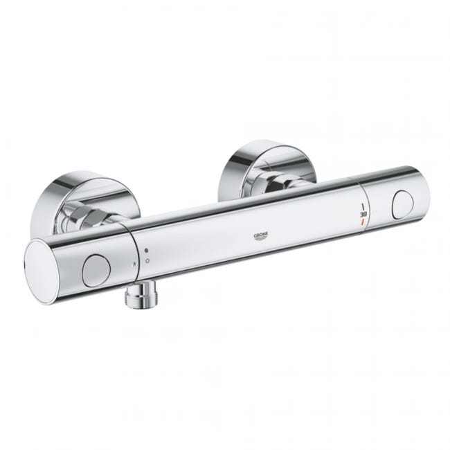 Grohe Grohtherm 1000 Cosmopolitan M Mitigeur Thermostatique Douche 1 2 34065002 Leroy Merlin
