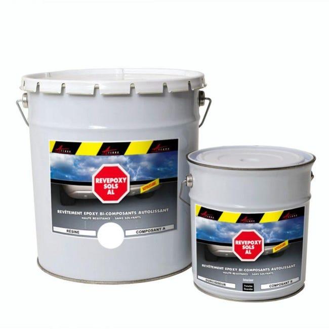 Peinture Epoxy Autolissante Sols Revepoxy Al Blanc Kit De 25 Kg Arcane Industries Leroy Merlin