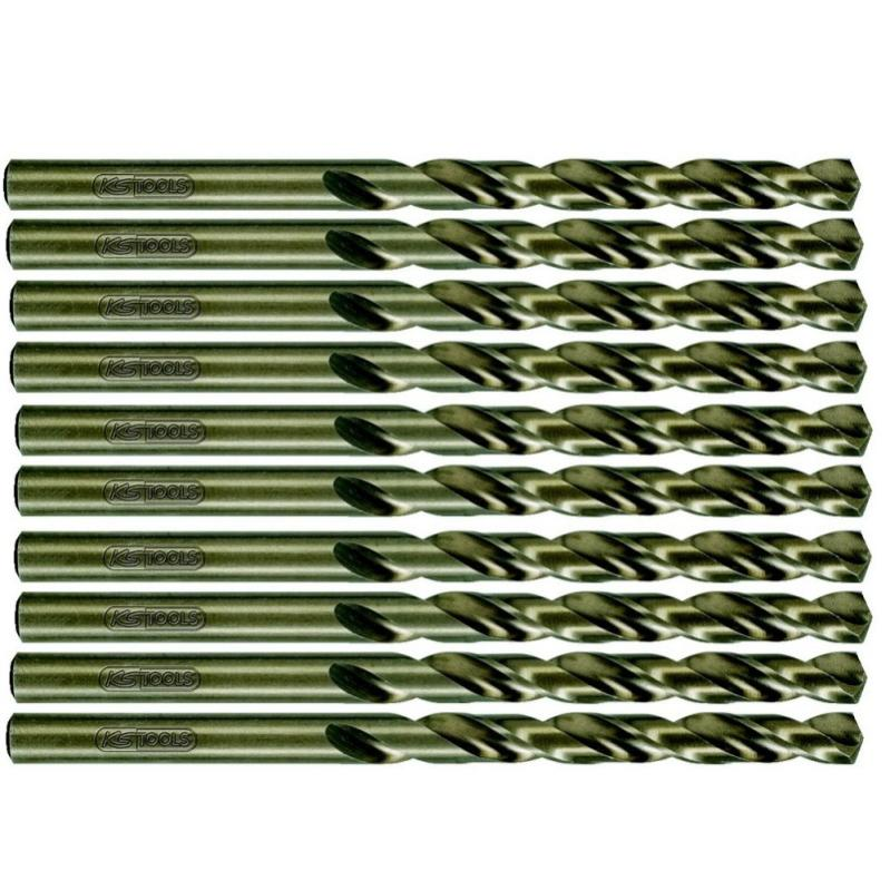 330.4003 KS Tools Forets spirale HSS TIN