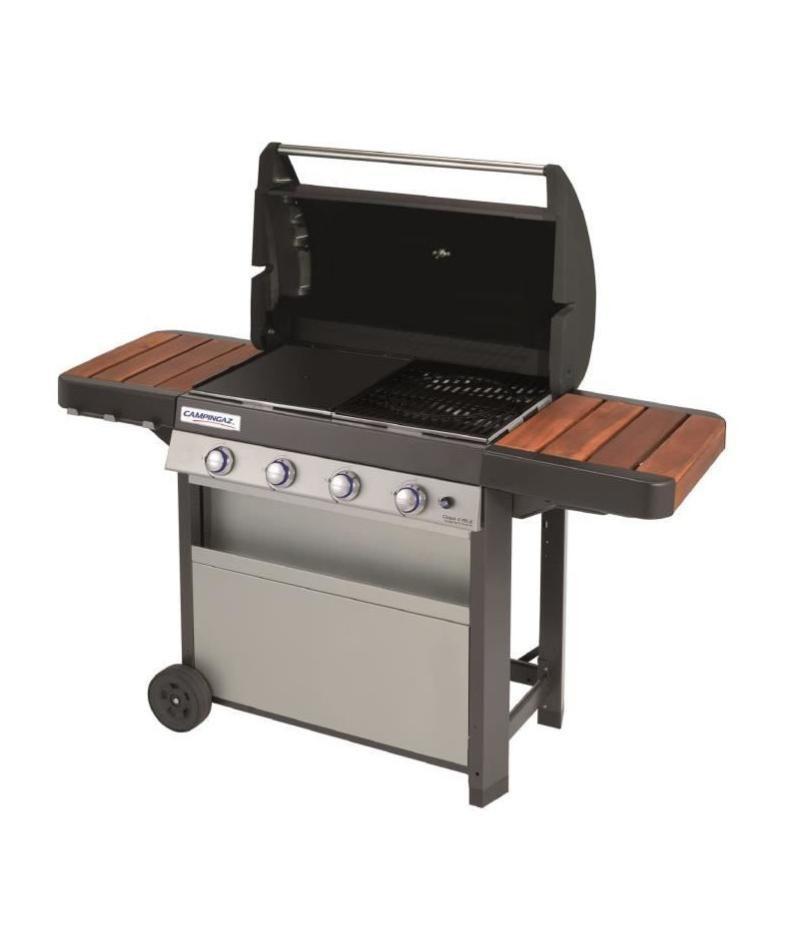 campingaz barbecue a gaz class 4 brûleurs  fonte Émaillée