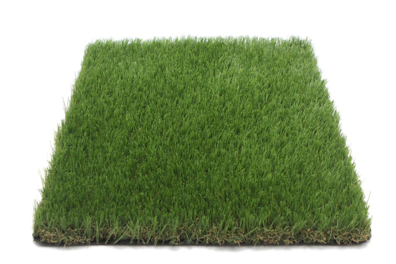 gazon artificiel en rouleau 4m x 1m hauteur 35 mm seegreen