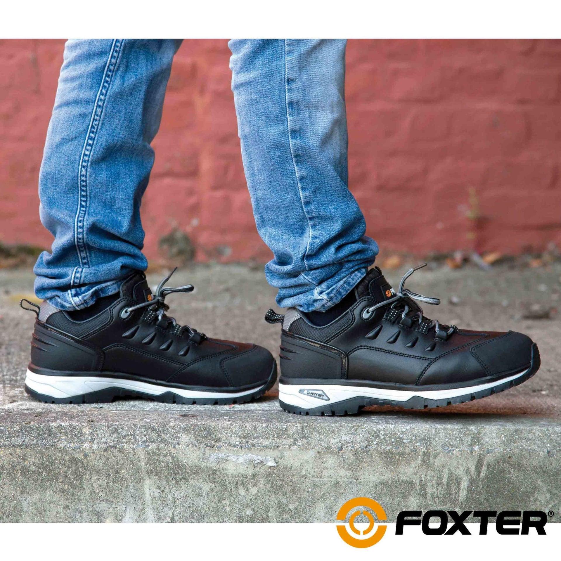 Foxter - Chaussures De Sécurité Basses   Hommes   Baskets ...