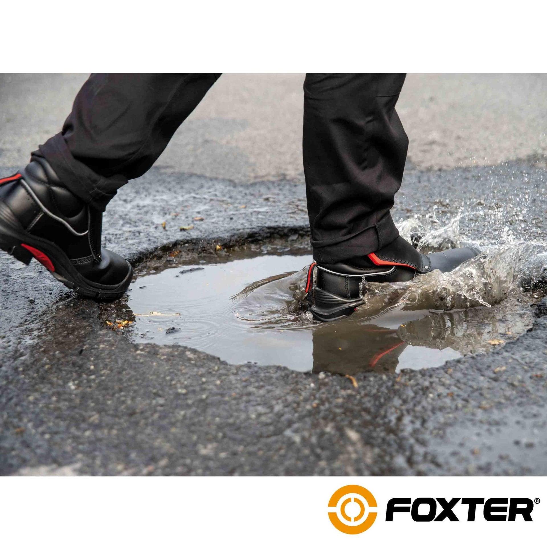 Foxter - Chaussures De Sécurité Montantes   Hommes ...