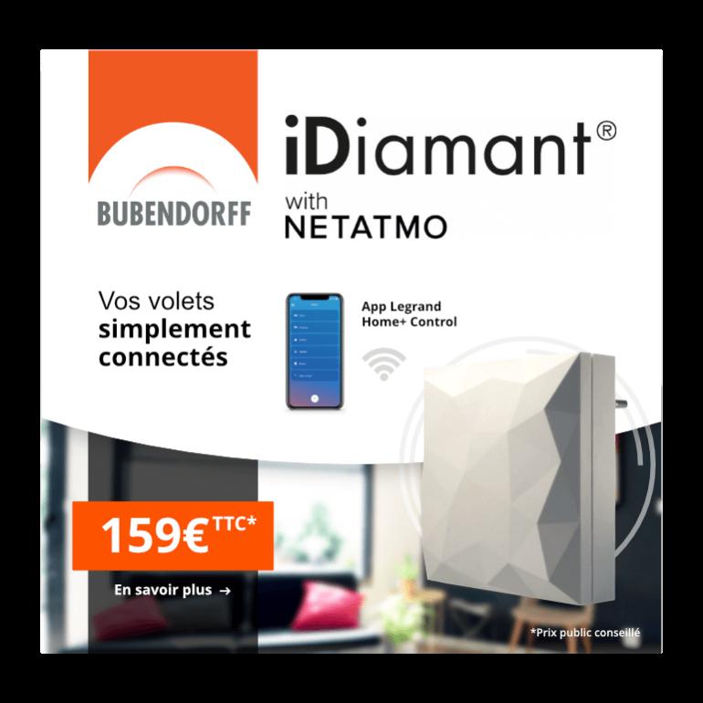 Bubendorff Bubendorff Box Domotique iDiamant Netatmo