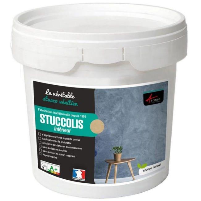 Stuc Venitien Enduit Stucco Spatulable Decoratif Stuccolis Terre De Sienne Jusqu A 7m Leroy Merlin