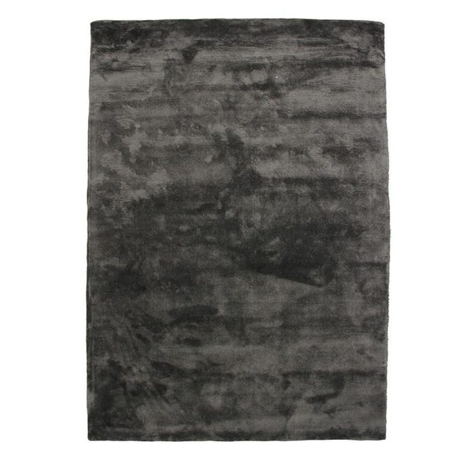 art silk tapis en viscose prune 160x230