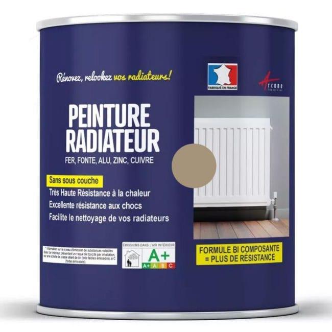 Peinture Radiateur Fonte Acier Alu Peinture Radiateur Ral 1019 Beige Gris 1 Kg Jusqu A 10 M Pour 2 Couches Leroy Merlin