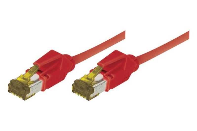 Câble Ethernet Cat 7 S Ftp Lsoh Snagless Rouge 0 30m Leroy Merlin