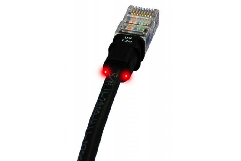 Câble Ethernet Cat 6a Patchsee Utp 30m Noir Leroy Merlin
