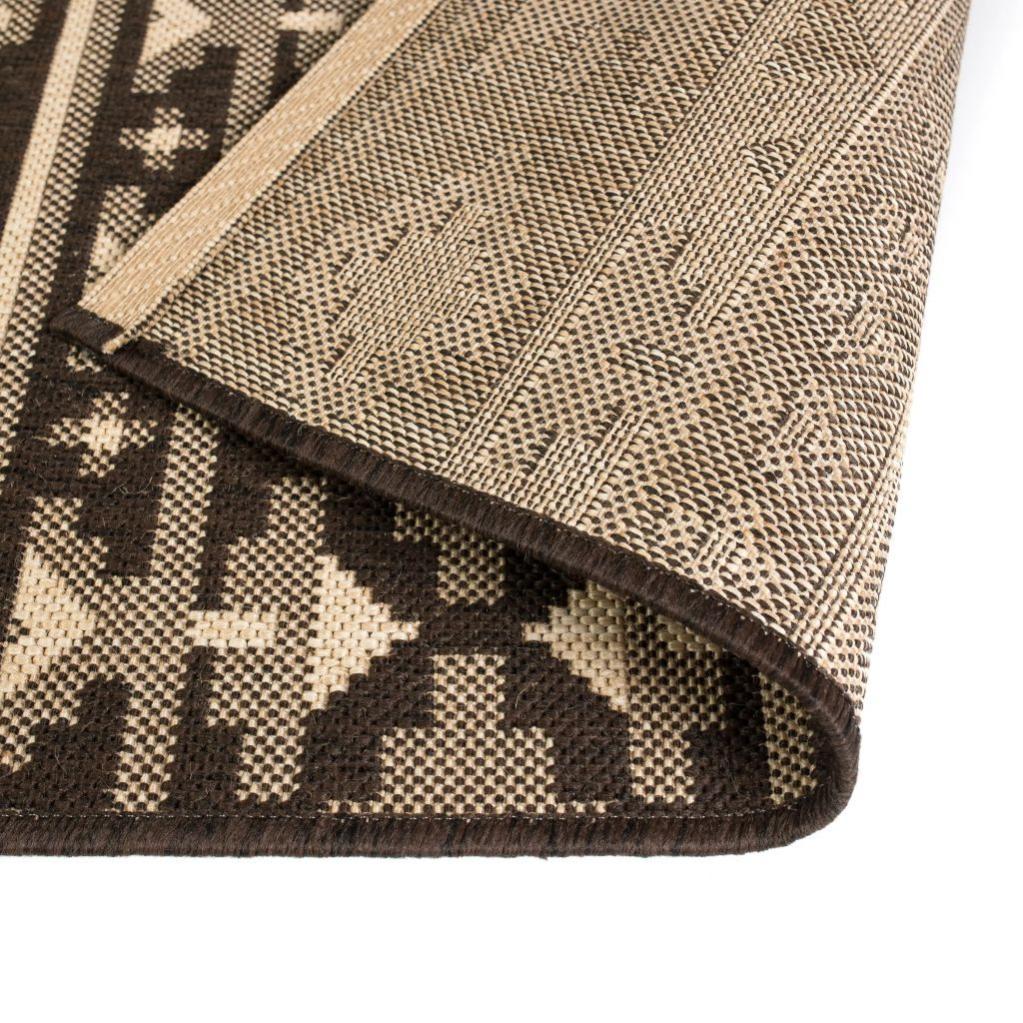 tapis extérieurintérieur aspect sisal 80x150cm design
