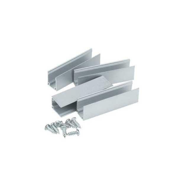 Support De Fixation Aluminium Pour Neon Led Flexible 220v Silamp Leroy Merlin