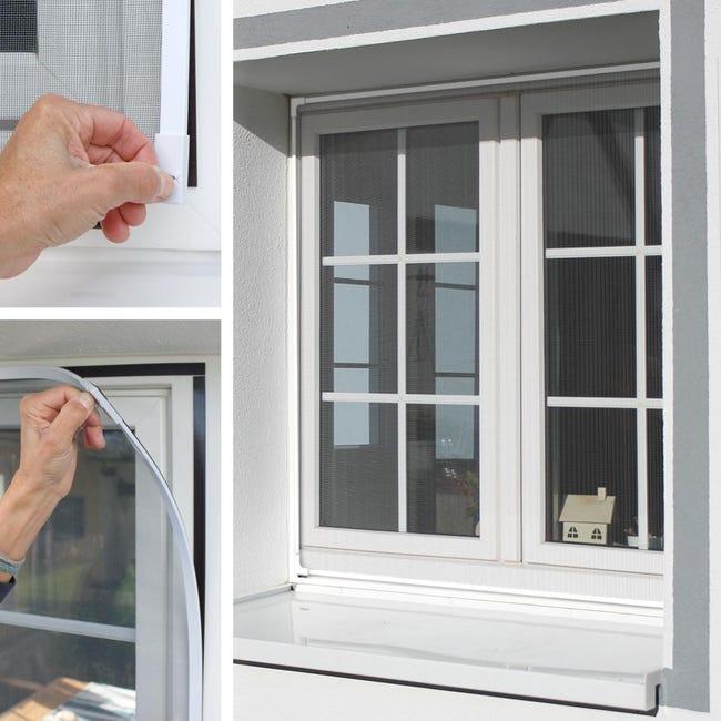 Moustiquaire Magnetique Pour Fenetres Portes Fermeture Aimantee Anti Moustiques 130x150cm Leroy Merlin