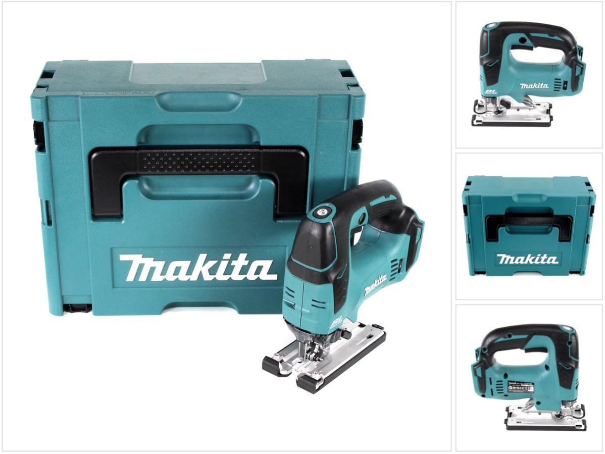 Makita DJV 182 ZJ Scie sauteuse sans fil 18 V en coffret Makpac sans batterie ni chargeur