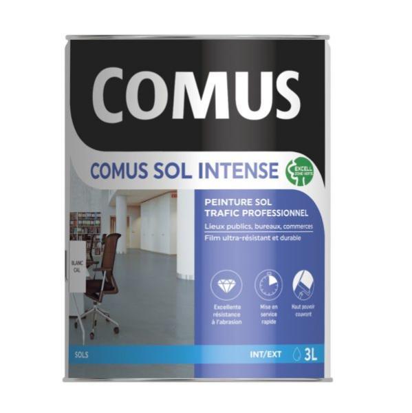 Comus Sol Intense Noir 3l Peinture Sols Intérieurs Et Extérieurs, Trafic Intense/professionnel ...