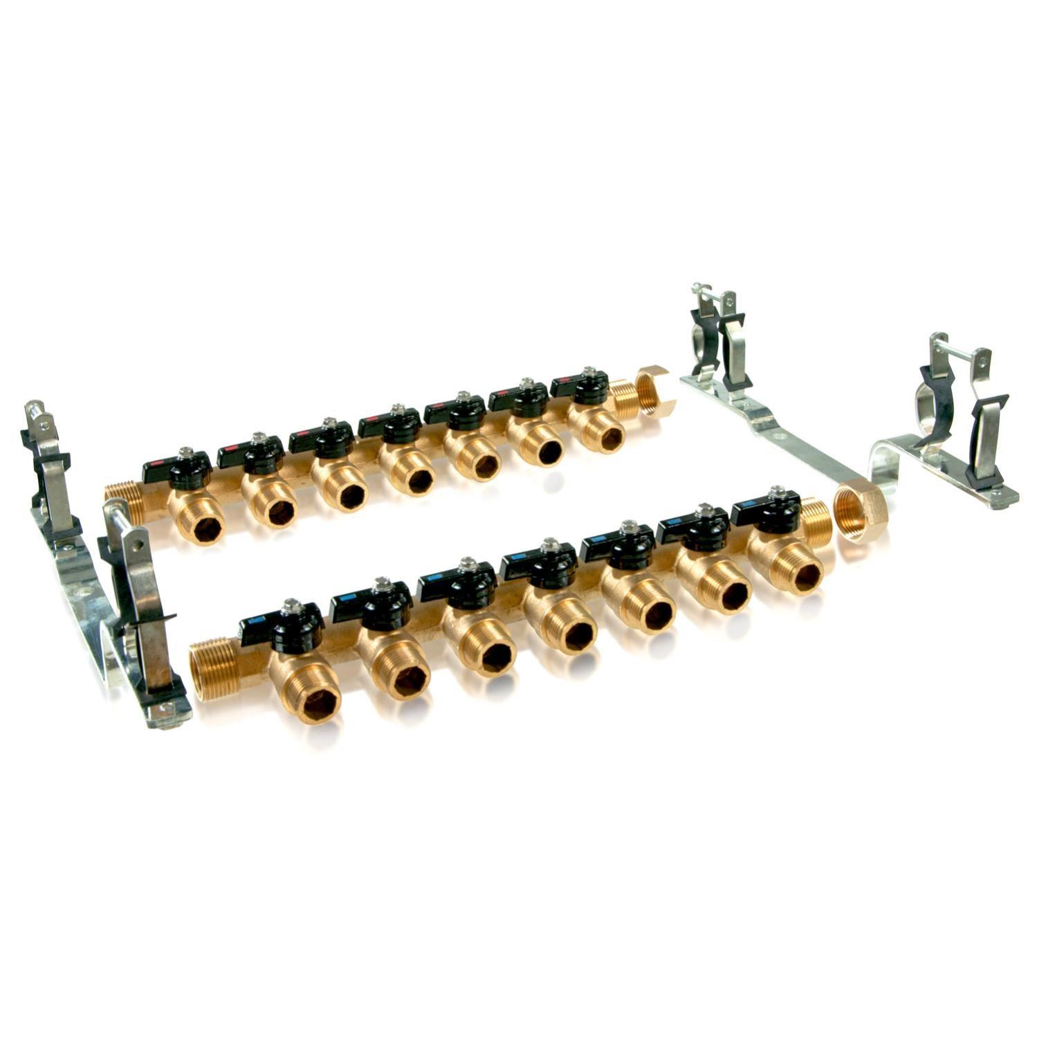 Kit collecteur radiateur Kit collecteur radiateur ARCANAUTE 7 Circuits
