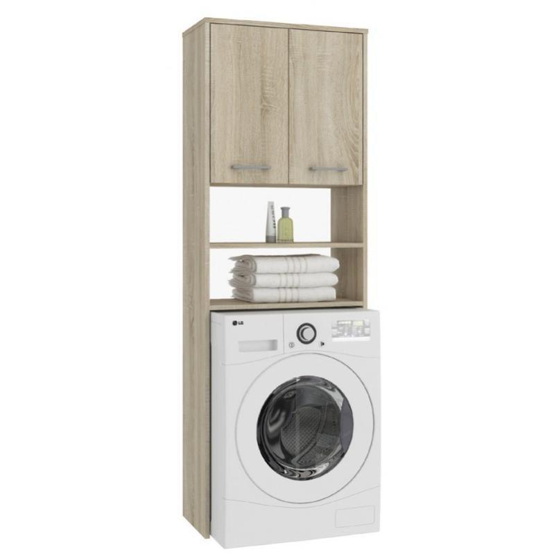 lena  meuble pour machine À laver 180x64x30 cm