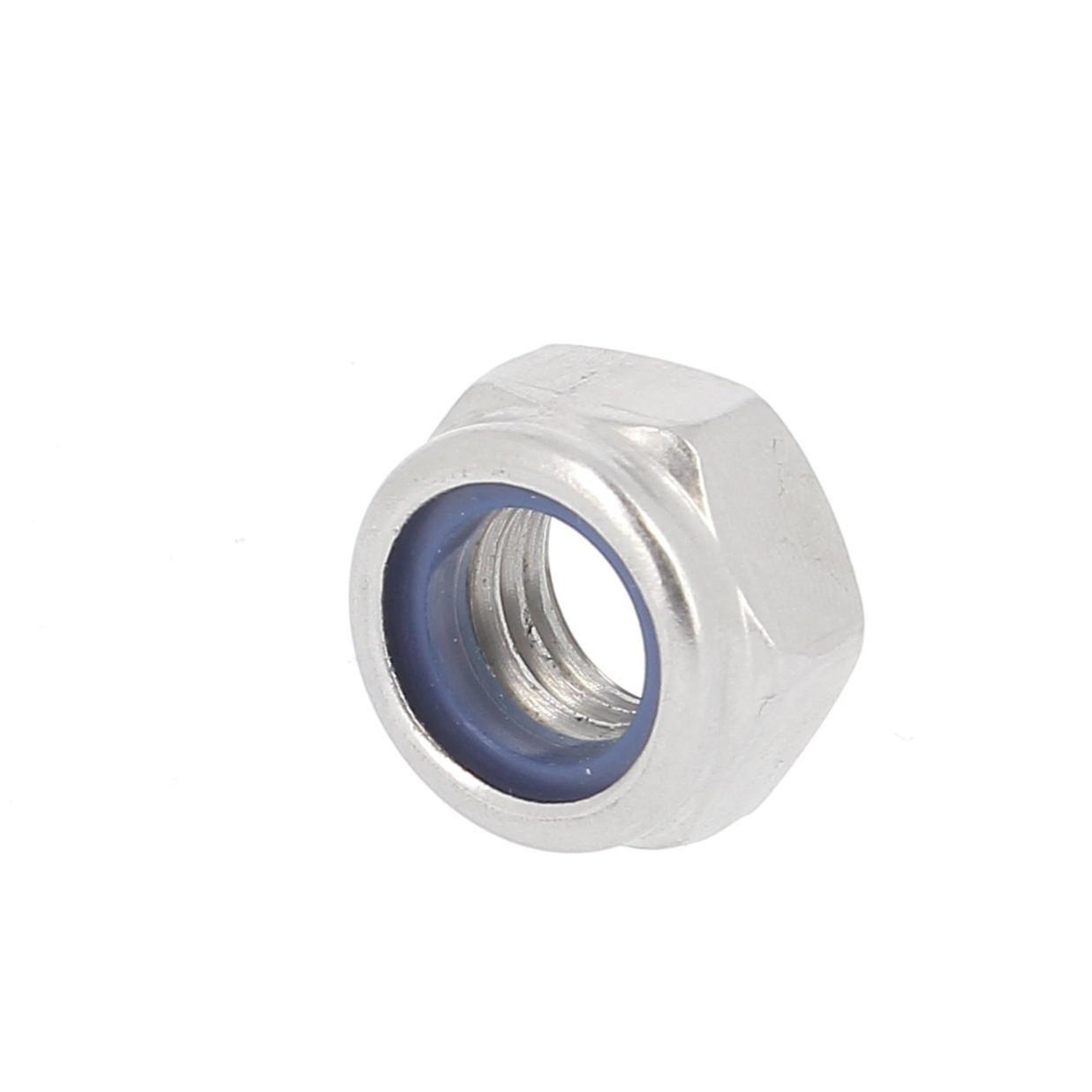 ACAMPTAR 100Pcs M3 Ecrou femelle 3mm Ecrou hexagonal Ecrou argente