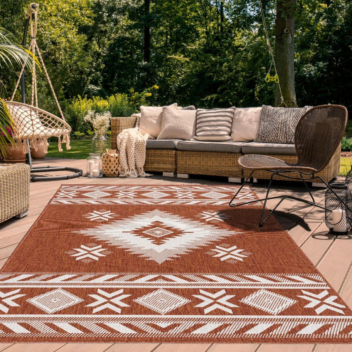 Tapis Exterieur 160x230 Cm, Brown Outdoor Carpet Menards