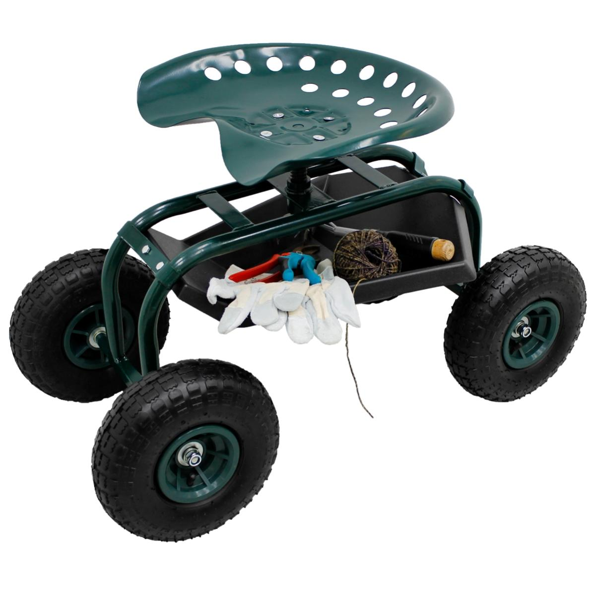 Haemmerlin Chariot De Jardin A Caisse Basculante 75 L Roues Gonflees O 270 Mm 4x4 Garden Leroy Merlin