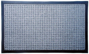 DOORMAT HOBNAIL PP GREY 40X60CM