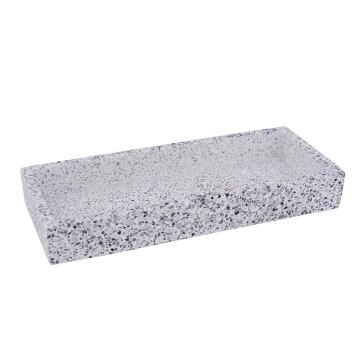 Terrazo tray SENSEA white