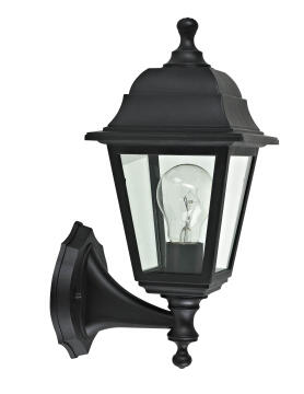 UP WALL LAMP,E27 MAX.60W,PLASTIC AND GLA