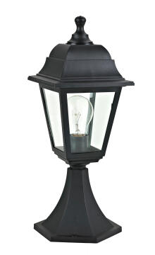 SMALL POST LAMP,E27 MAX.60W,PLASTIC AND