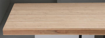 BAMBOO WORKTOP UNFINISHED, 245X65X3.8 CM
